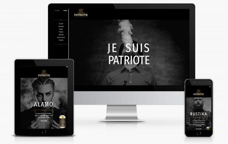Nouvelle image de marque et nouveau site Web pour Vape Dépôt. Réalisation 30&1 Pub+ Design.